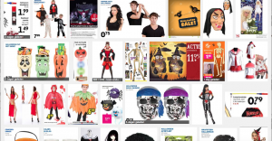 Schermafbeelding Halloween-aanbiedingen in Google
